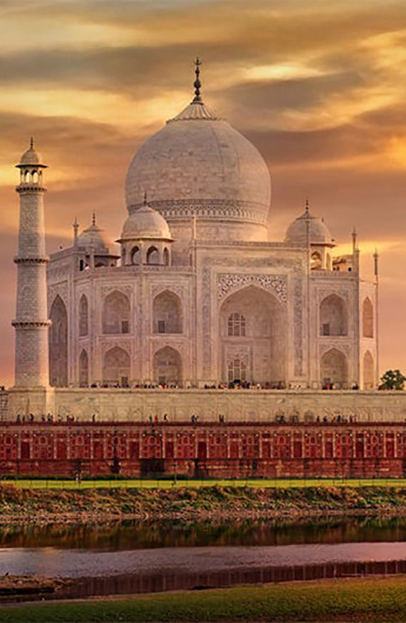 Escapade à 2 au Taj Mahal